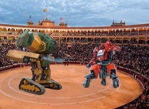luchas de robots en las ventas